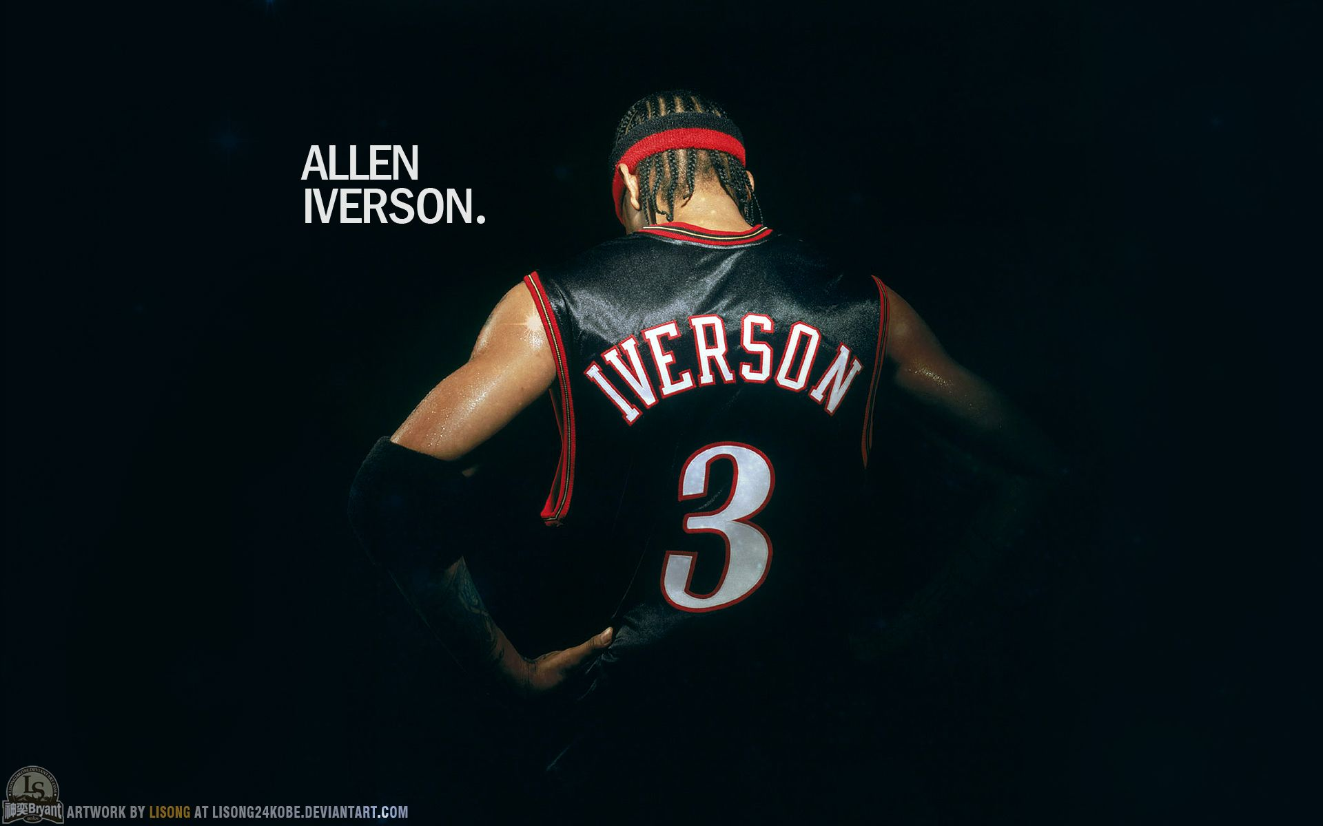 Number 3 Is The Answer With Images Allen Iverson Allen Iverson Wallpapers Sports Pictures