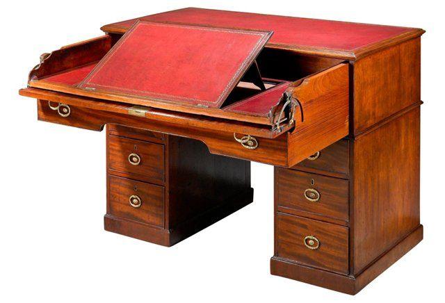 Regency Architect's Desk by Gillows