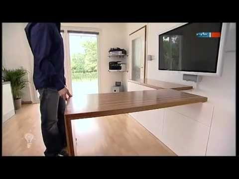 multifunktionsm bel mdr einfach genial youtube drehbarer esstisch. Black Bedroom Furniture Sets. Home Design Ideas