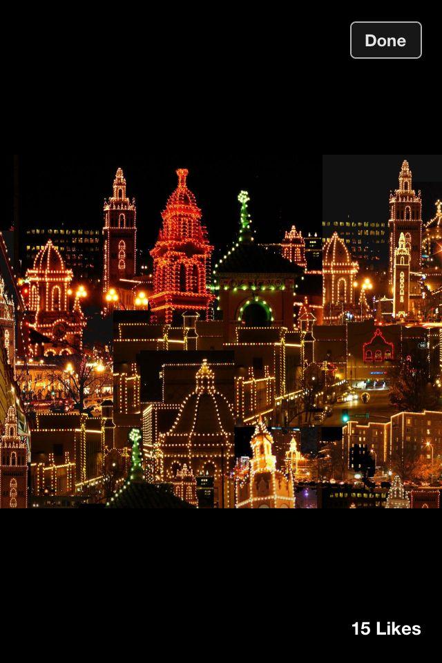 Kansas City Plaza lights at Christmas   Winter Wonderland   Pinterest