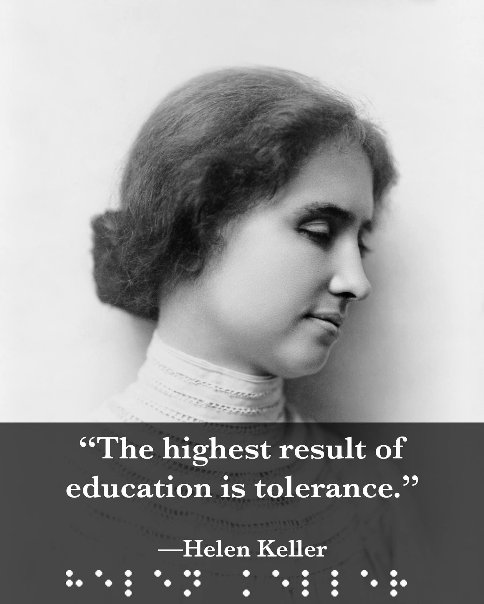 Helen Keller A Childhood Disease Left Her Deaf