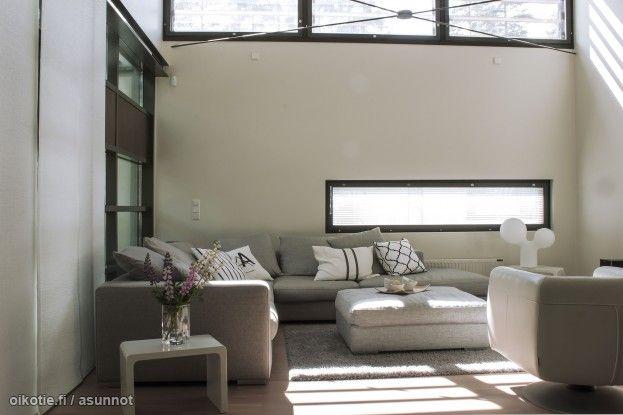 Myytävät asunnot, Kaskikaarre 3, Hämeenlinna #oikotieasunnot #olohuone #livingroom