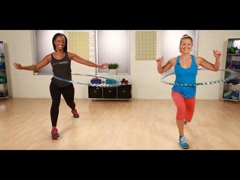hula hoop träning