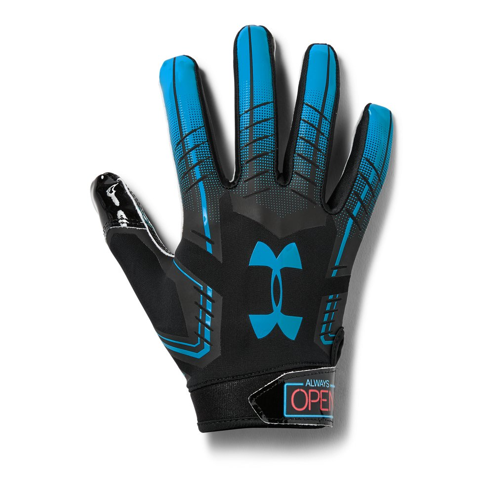 Mens ua f6 patterned football gloves under armour us