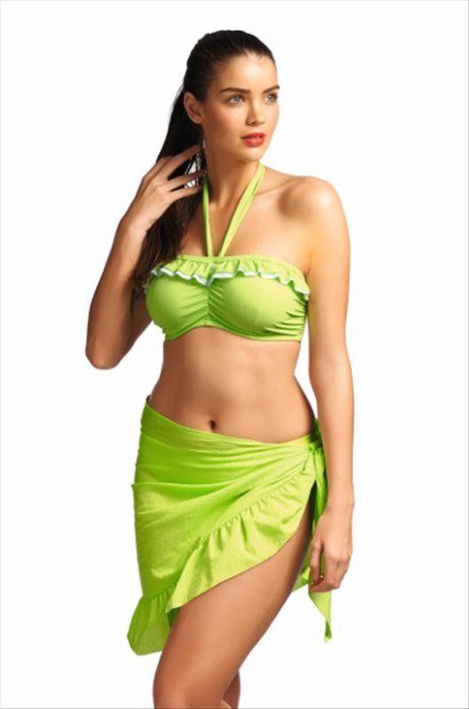 f6654c11e7 Freya bikini top bandeau Cherish DD-GG Lime | Closet Dreams | Freya ...