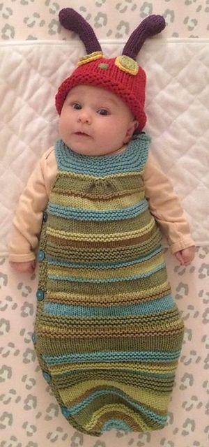 Baby Cocoon Snuggly Sleep Sack Wrap Knitting Patterns