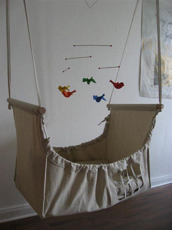 schwebebettchen for newborns and babiesmade by frokenstjernestov baby time pinterest bebe. Black Bedroom Furniture Sets. Home Design Ideas
