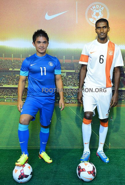 super popular 03a49 cd43f India 2013/14 Nike Home and Away Kits | Soccer Jerseys ...