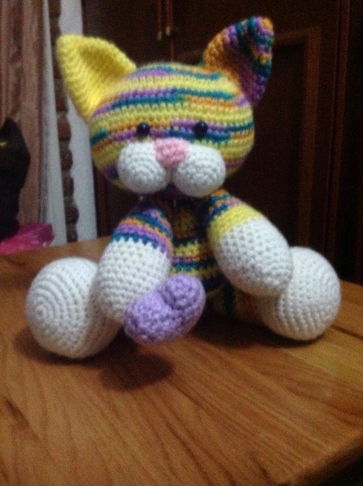 Gatito multicolor