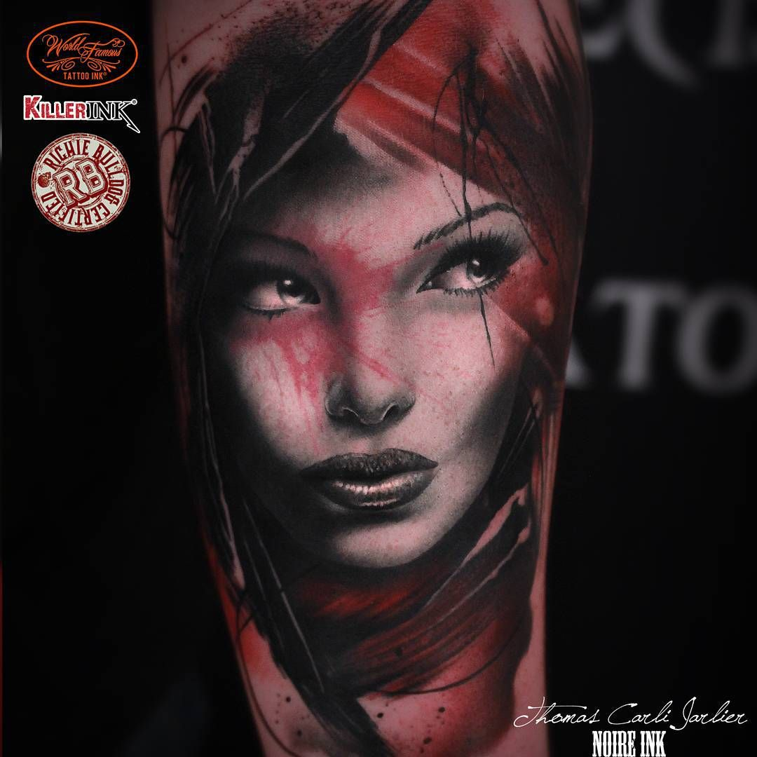 Download Free Girl Face Tattoo
