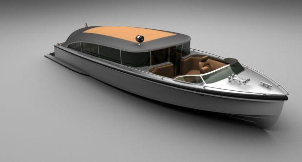 "Waterdream T-777  - Limousine Tender ""venetian taxi boat"""