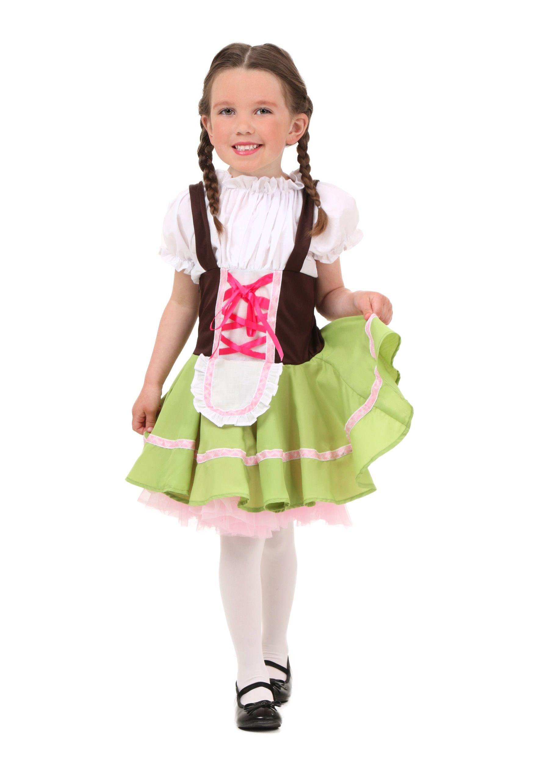 Toddler German Girl Costume Girls Halloween Costumes