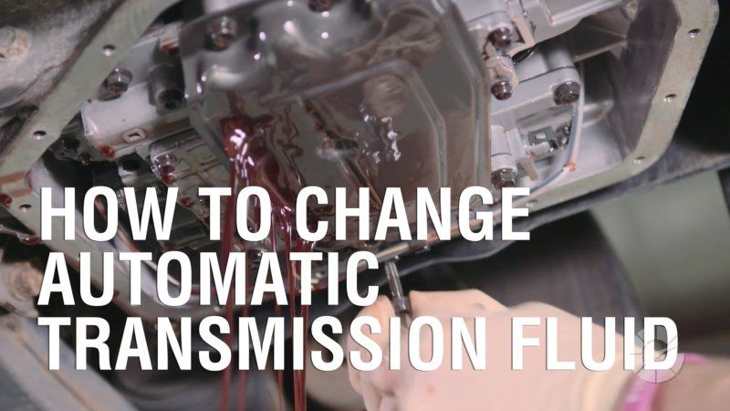 How To Change Automatic Transmission Fluid Automatic