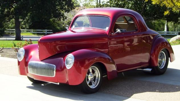1941 Willys Custom Coupe