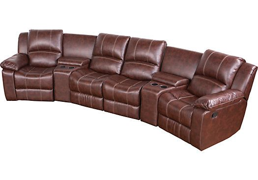 Shop for a Masino 5 Pc Blended Leather Sectional at Rooms To Go. Find Reclining  sc 1 st  Pinterest : sectionals rooms to go - Sectionals, Sofas & Couches