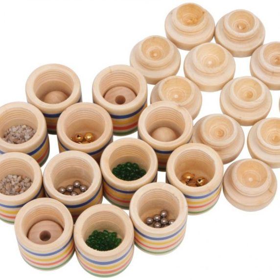 Kleine doosjes gevuld als geluiden memory te gebruiken for Kleine vijverfilter zelf maken