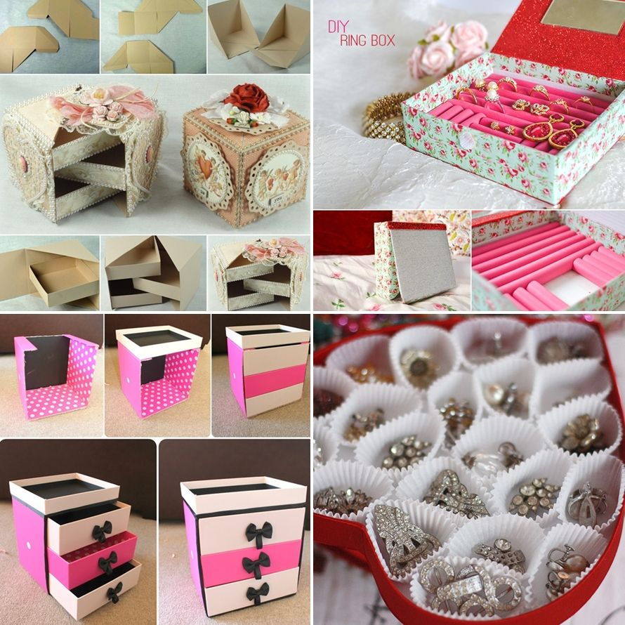 Nice Diy Jewelry Box Part - 9: 10 Awesome DIY Jewelry Box Ideas That Youu0027u0027ll Want To Try - Http
