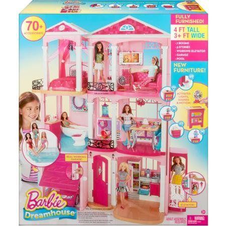 Robot Check Barbie Dream House Toy House Barbie Dream