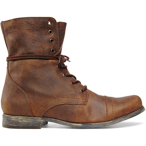 782457b6547 Steve Madden Men s Troopah Boots ( 100) ❤ liked on Polyvore featuring mens