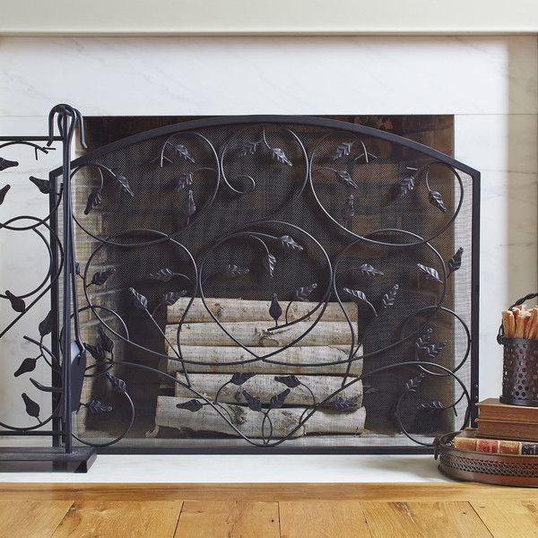 Peters Fireplace Screen Chez AtelierDPC Pinterest Fireplace