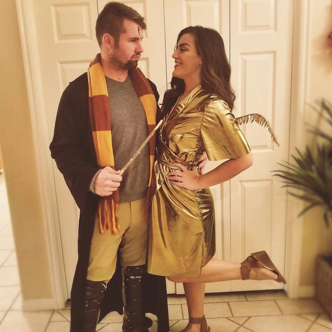 Adorably Cheesy Couples Halloween Costumes to Copy This