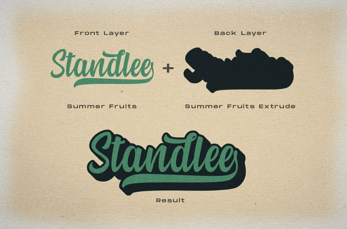 Summer Fruits Desktop Font & WebFont762 YouWorkForThem