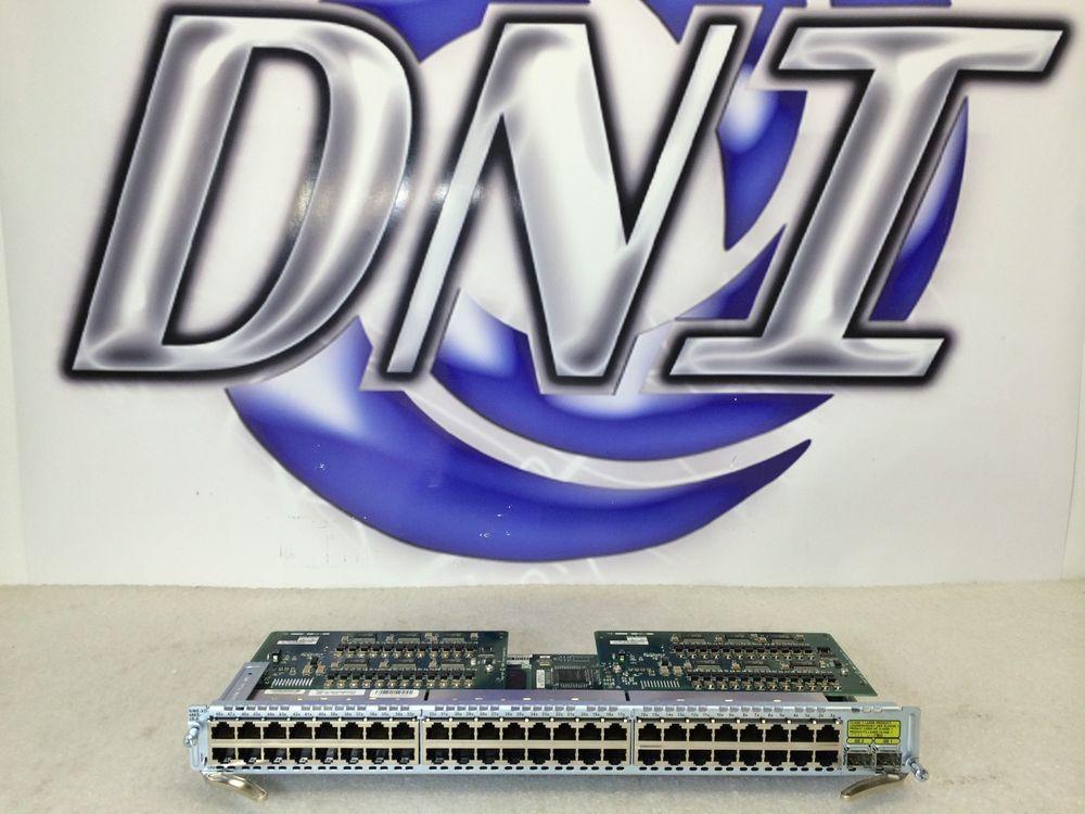 Cisco NME-XD-48ES-2S-P 48 Port RJ-45 802.3af Fast Ethernet EtherSwitch Module KK #Cisco