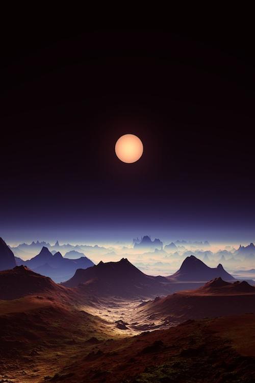Enigma Mystical Full Moon Landscape By Aleksandra Lajtenberger Fotos Paisajes Fotografia Paisaje