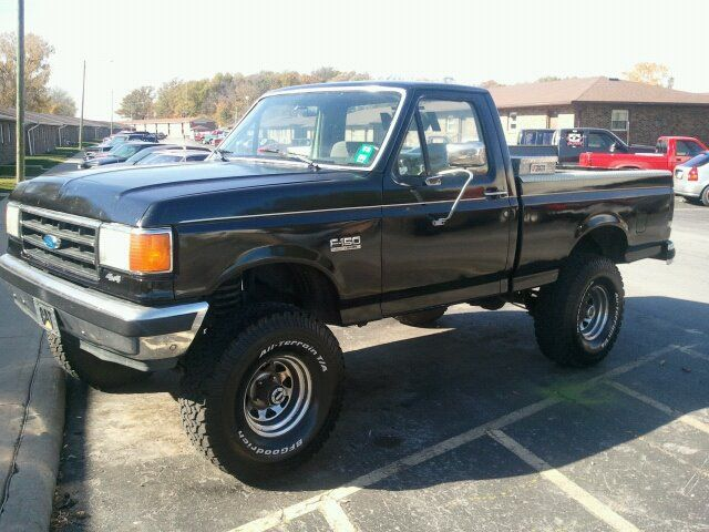 1991 Ford F 150 Pictures Cargurus Classic Ford Trucks Ford F150 Ford Trucks