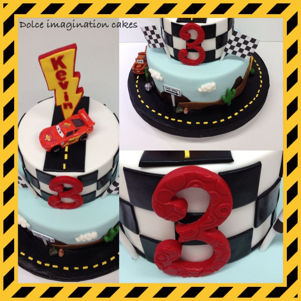 Toys cars 3  Kevinus Car themed birthday cake  Made this cake for a little