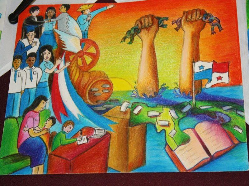 Concurso Nacional De Ensayos Pintura Y Dibujo 2 Jpg 800 600 Art Painting Collage