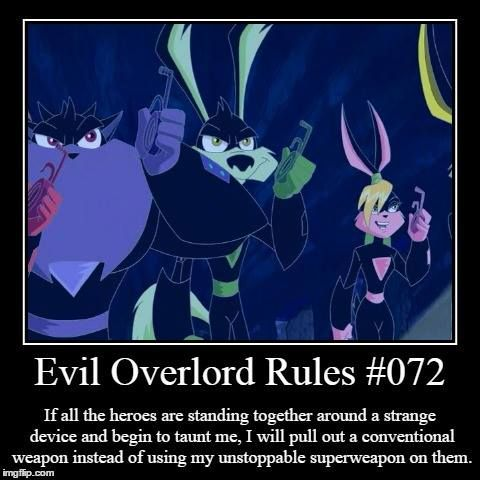 Evil Overlord Rule Aresjohnson On Deviantart