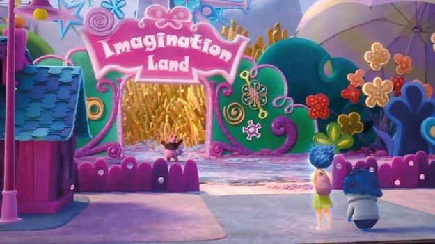 """I got Imagination Land! Which Part Of Riley Anderson's Mind From """"Inside Out"""" Are You? ~ Imagination Land is a theme park located inside Riley Anderson's mind . It is where Riley's imagination exists. You can also find a giant box of french fries, a boyfriend generator, and and a special appearance by Figment!"""