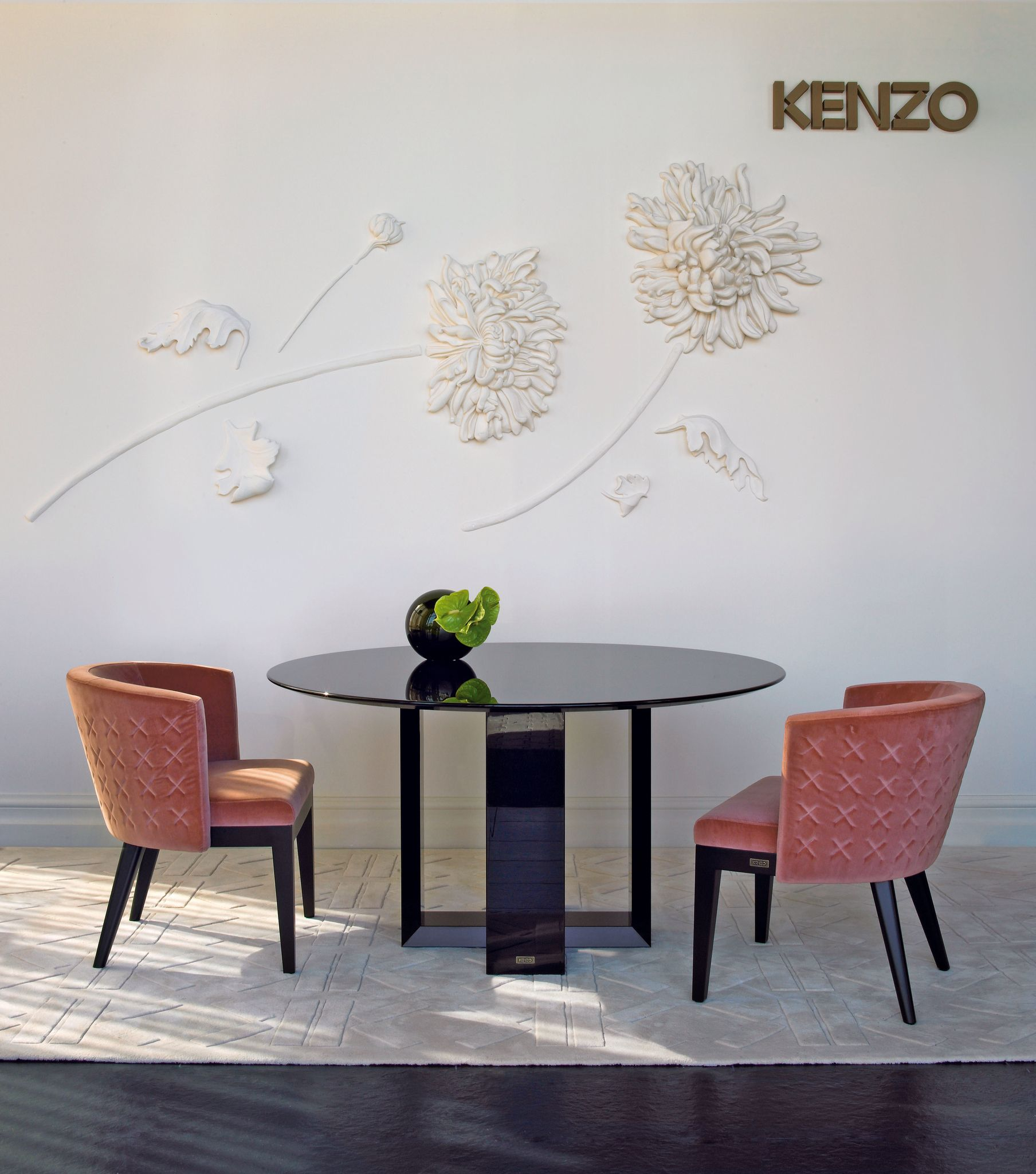 Kenzo Maison Home Decor Wall Design Dining Chairs