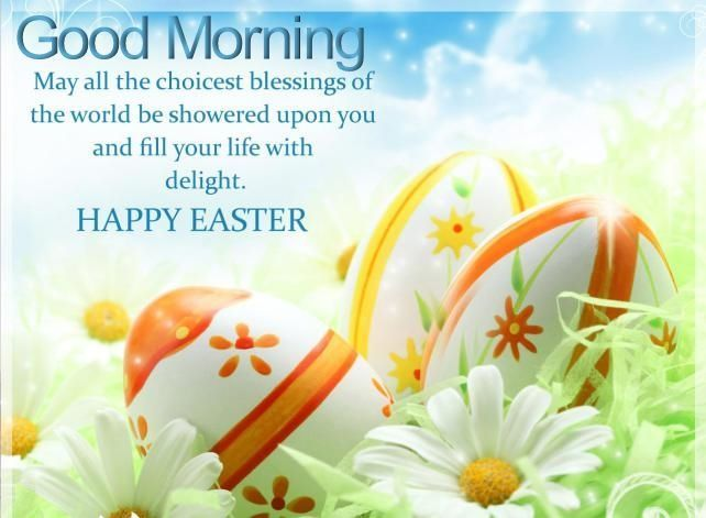 Good Morning Happy Easter easter good morning easter quotes easter images  easter quote happ… | Easter wishes messages, Happy easter messages, Happy  easter greetings