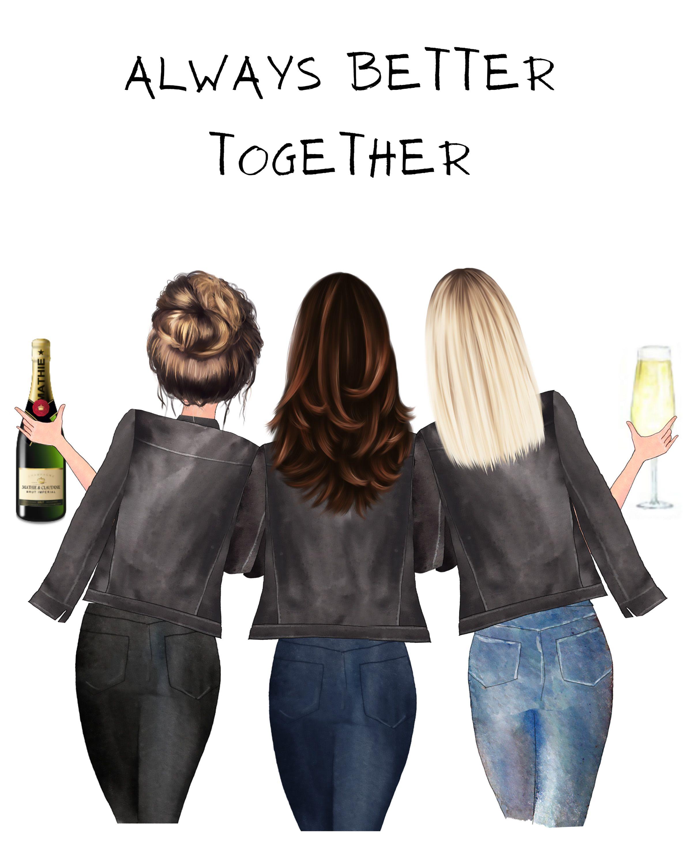 Geschenk für 3 Freundinnen