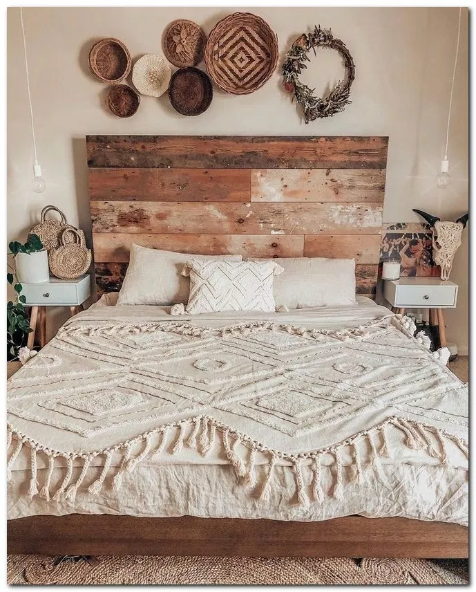 34 boho master bedroom ideas 1 | Home bedroom, Bedroom design on Boho Master Bedroom Ideas  id=74932