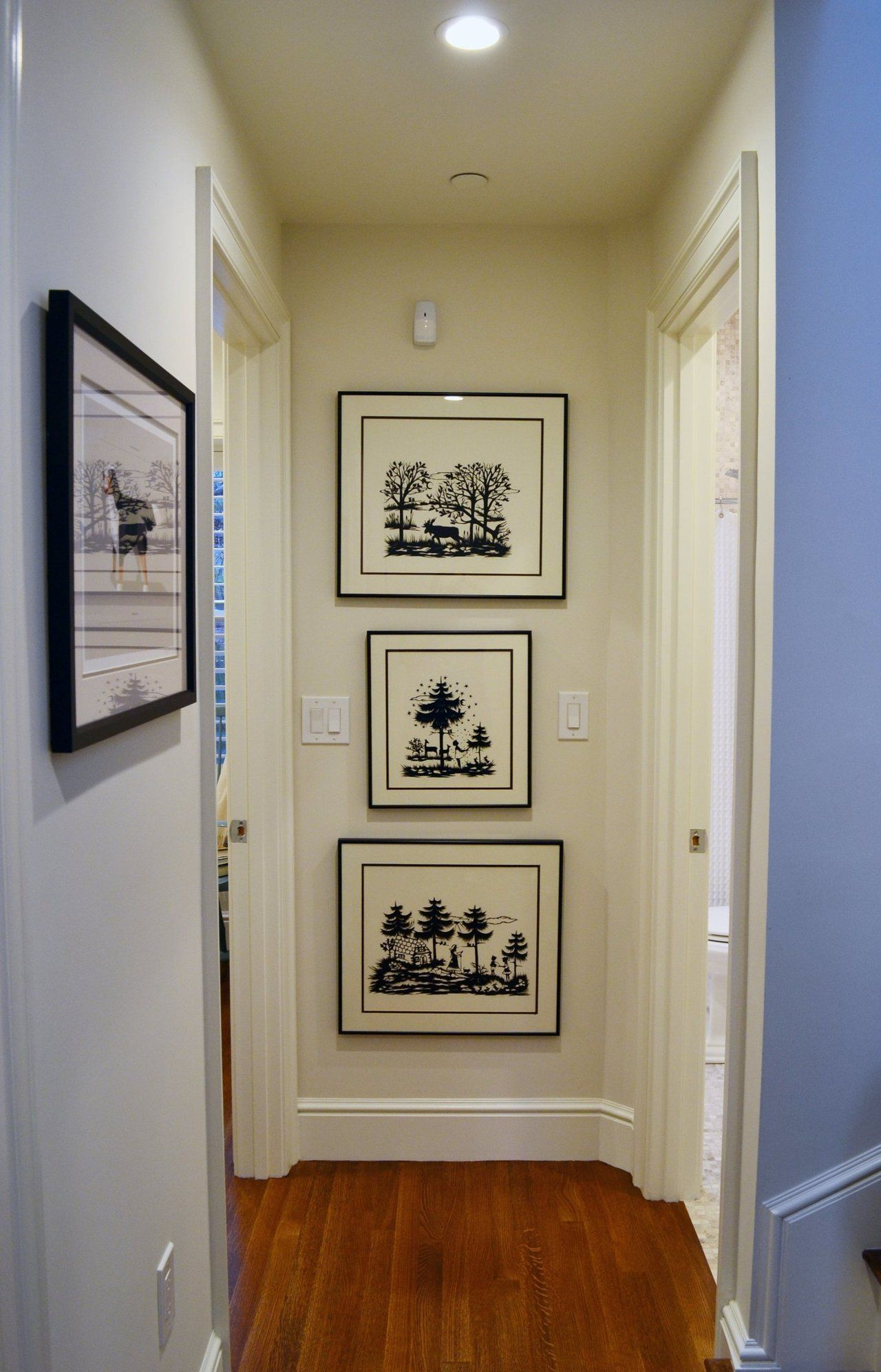Abby 39 s fabled south end townhouse discover more ideas for End of hallway ideas