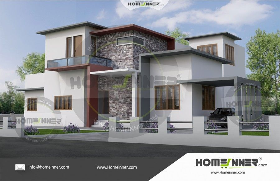 5 Bedroom Modern House Plans Home Designs Architectural