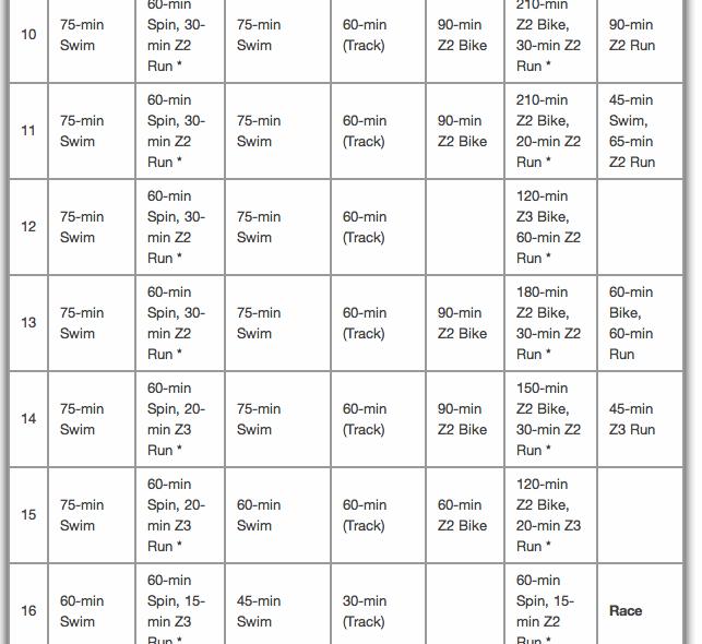 Strength Training Plan For Triathletes: 16 Week Half Ironman Training Plan