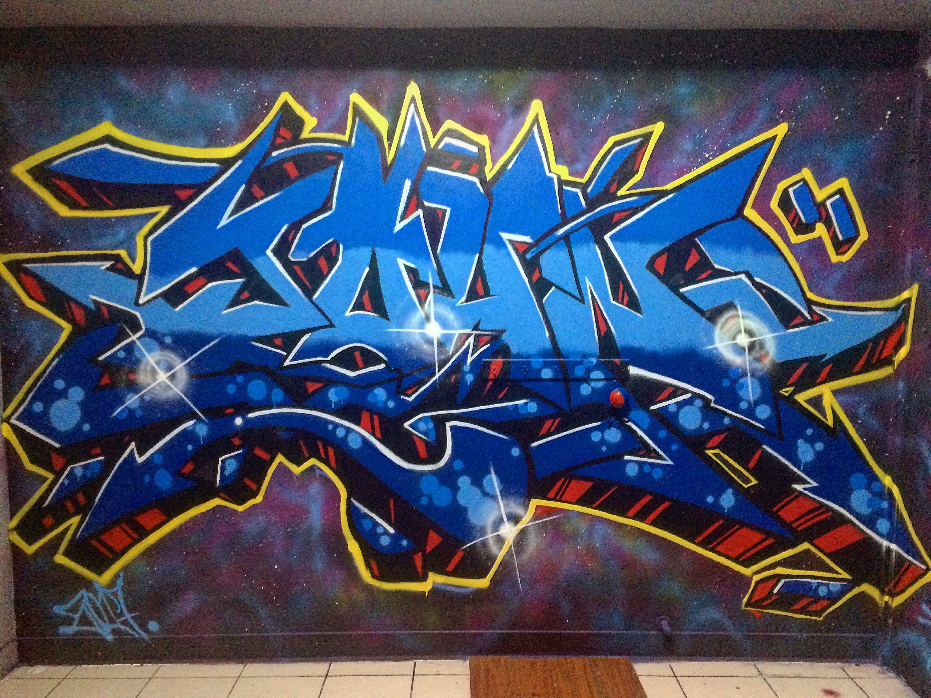 My wildstyle piece graffiti wildstyle handstyle piece