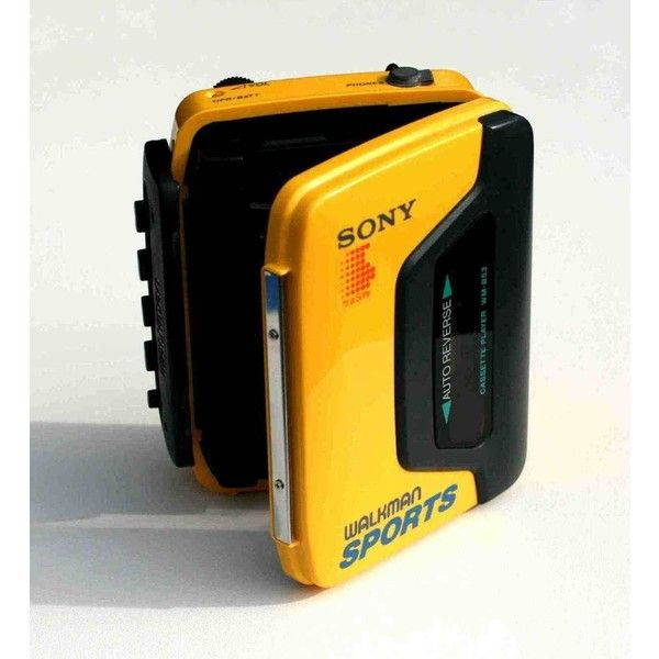 Waterproof sony walkman cassette player!! I am walking down