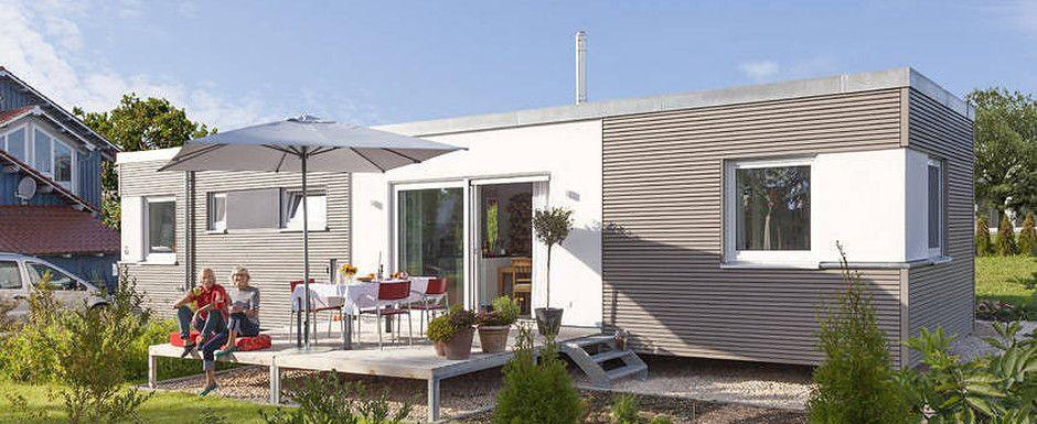 Modelle freizeit domizile mobilhome happylivinghouse for Wohnbox fertighaus