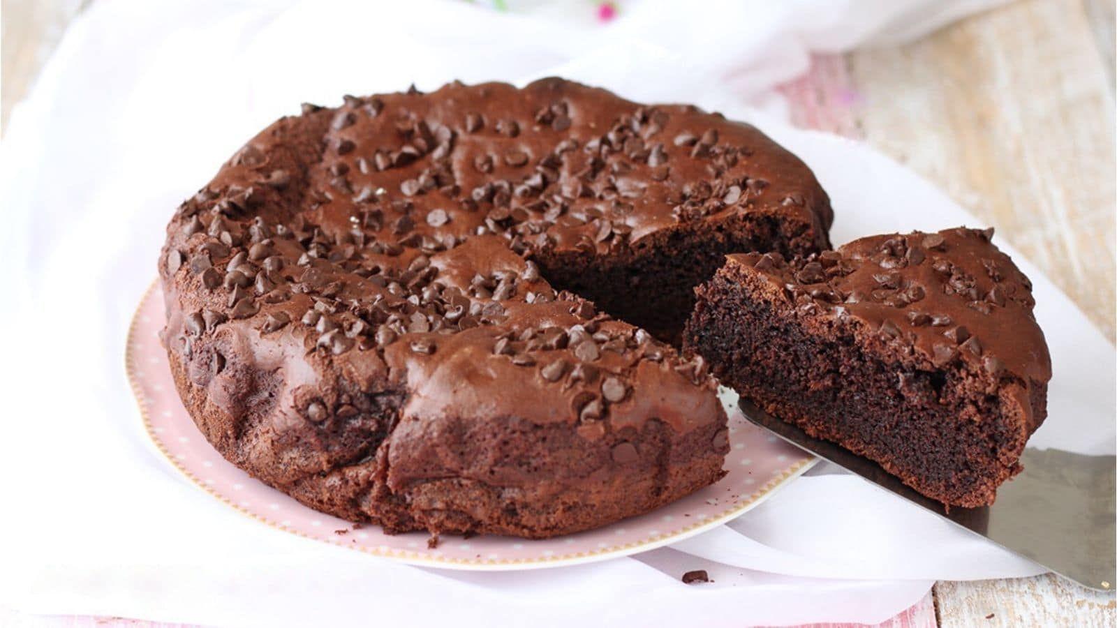 Gâteau au chocolat sans œuf et sans beurre gourmand et ...