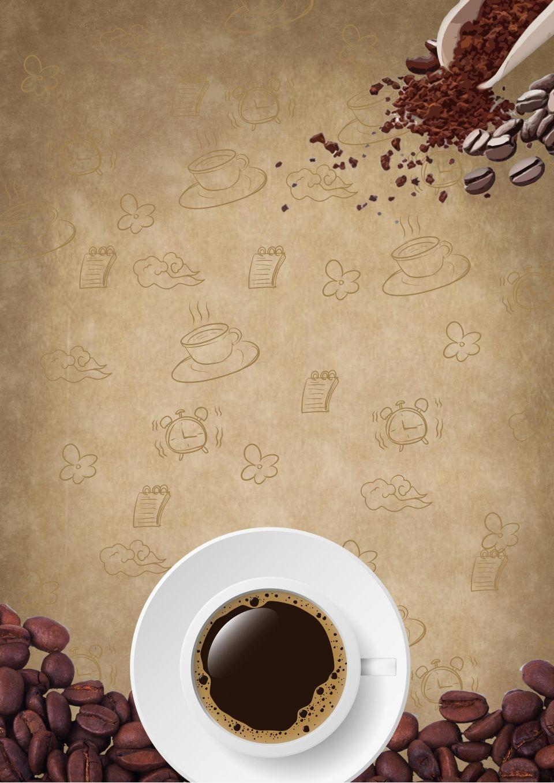 Creative Coffee Afternoon Tea Poster Background In 2021 Creative Coffee Coffee Shop Logo Design Blue Mountain Coffee