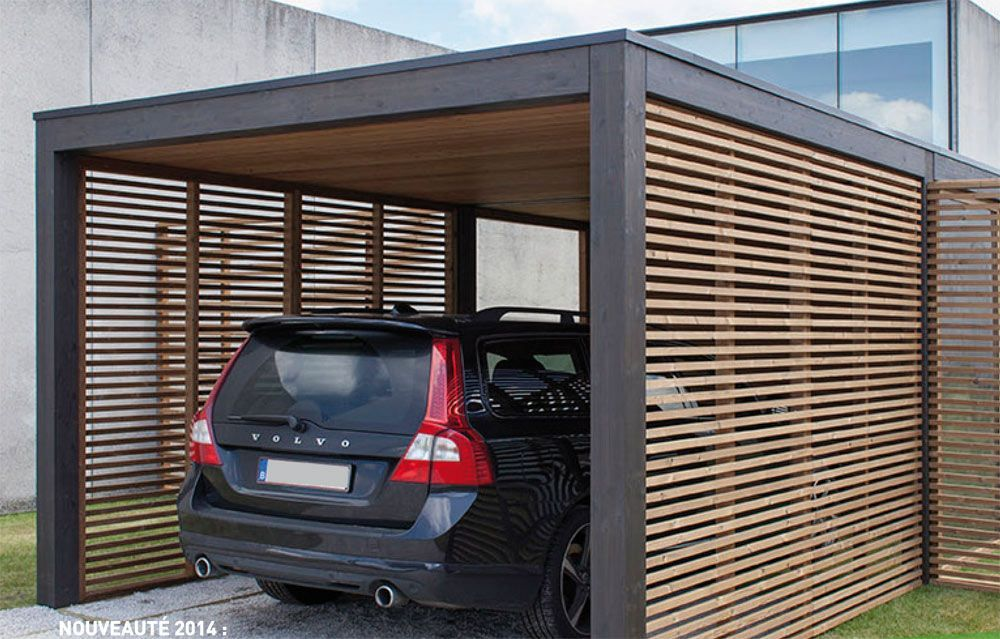 Carport Abri Carport Thermochauffe Modu With Images Carport Designs Carport Carport Garage