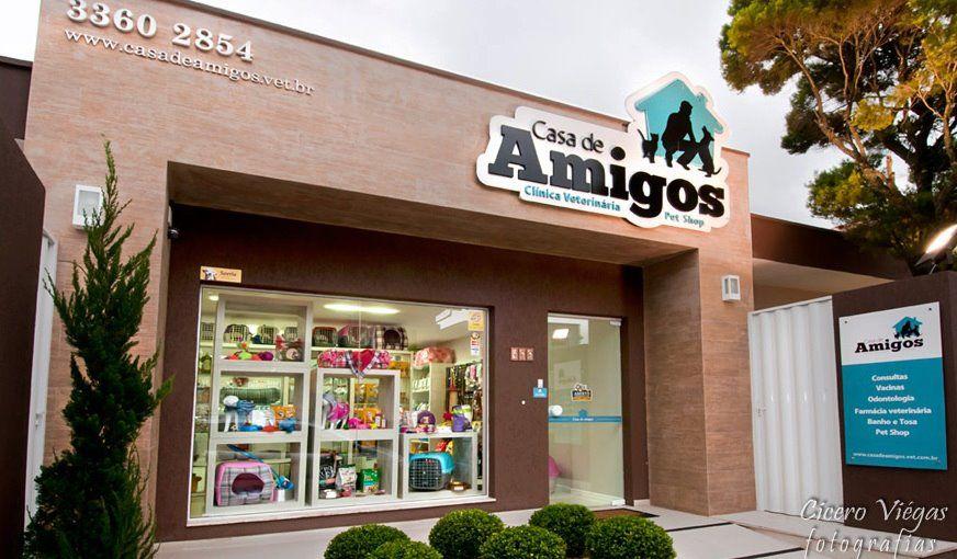 Pet Shop Fachada 2 Loja De Animais Clinica Veterinaria Fachada