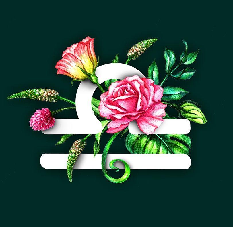 Libra flowers