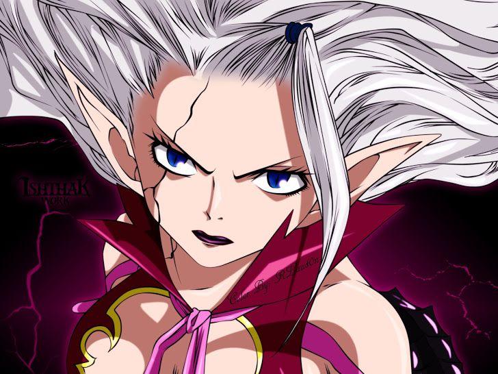 Mirajane Strauss Satan Soul Girl Fairy Tail Anime Hd Wallpaper