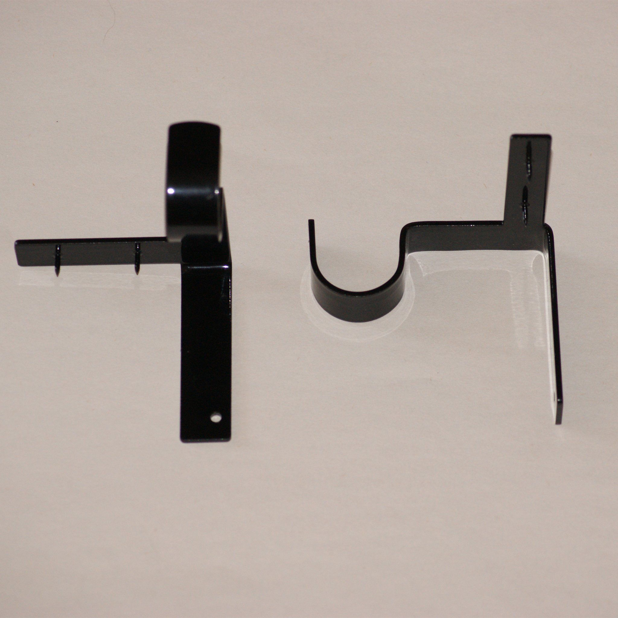 Kwik Hang Curtain Rod Brackets Single Rod Brackets Kwik Hang